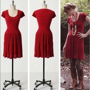 Anthropologie Sparrow Amarena Sweater Dress Knit